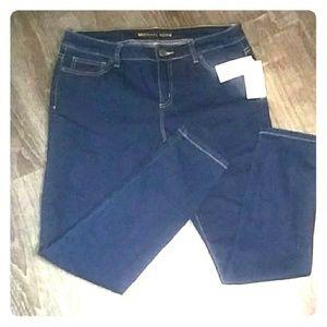 NWT Michael Kors skinny jeans sz 10